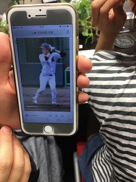 ファンが選んだ安田選手らしさを表す写真